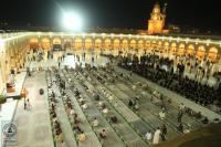 بالصور .. المحاضرة الدينية الإرشادية الرمضانية في مسجد الكوفة مع الالتزام بالضوابط الصحية