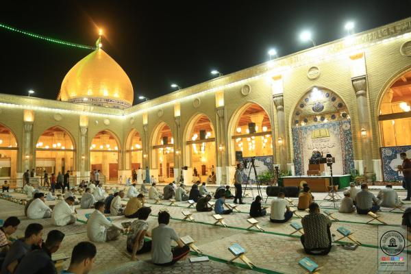 في رمضان المبارك .. المحاضرة الدينية التوجيهية لفضيلة الشيخ أحمد الربيعي في مسجد الكوفة المعظم