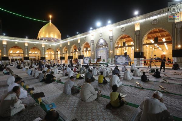 استمرار إقامة المحاضرات الدينية خلال شهر رمضان المبارك في مسجد الكوفة المعظم