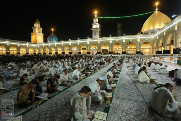 الختمة القرآنية المرتلة الخامسة عشرة في الليالي الرمضانية بمسجد الكوفة المعظم