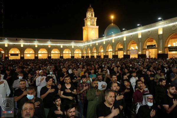 امانة مسجد الكوفة تحيي ذكرى جرح الإمام علي (عليه السلام) ليلة التاسع عشر من رمضان المبارك