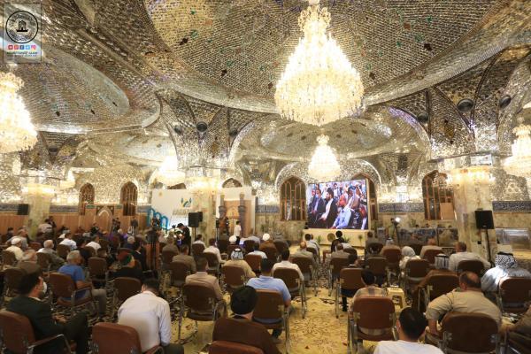 انطلاق فعاليات مهرجان السفير الثقافي بنسخته العاشرة في مسجد الكوفة المعظم