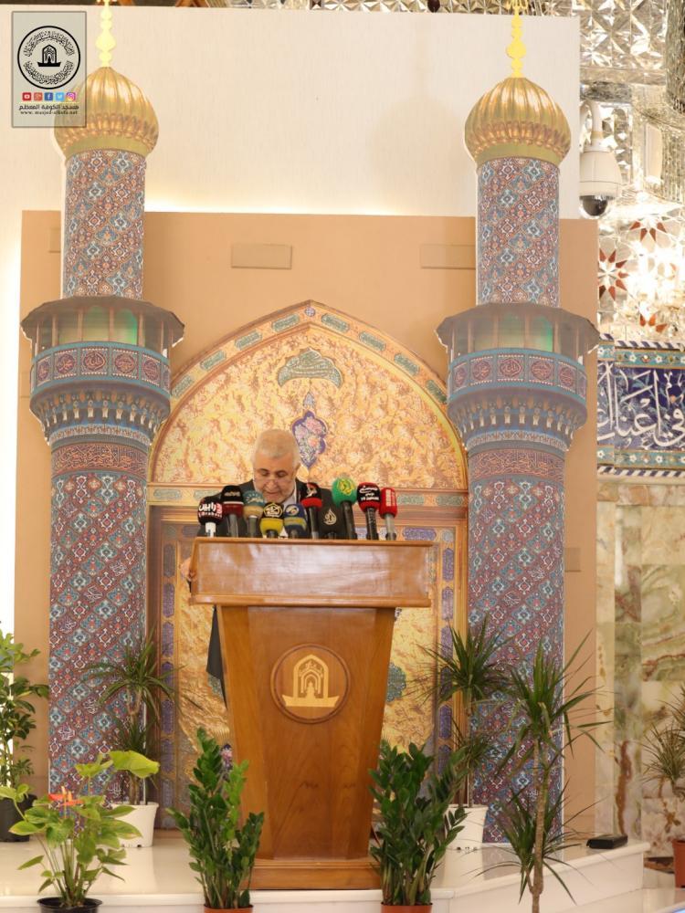 السيد الخلخالي في مهرجان السفير الثقافي العاشر يدعو العتبات والمزارات الى التمسك بإقامة الفعاليات الثقافية والدينية