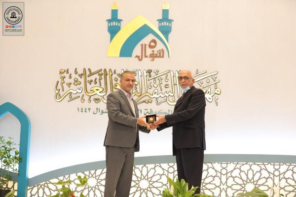 تكريم الخطاطين الفائزين في مسابقة يوم الخط العربي