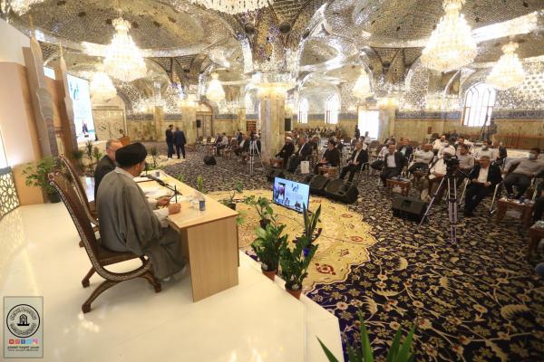مؤتمر الإمام المهدي (عجل) ومناقشة البحوث خلال مهرجان السفير الثقافي العاشر