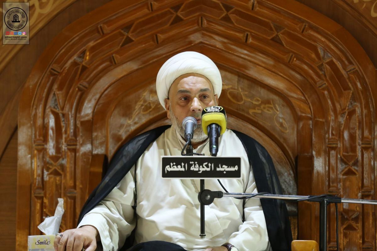 مجلس العزاء الأسبوعي في مسجد الكوفة المعظم