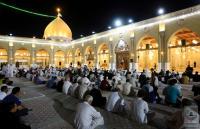 خدمة مسجد الكوفة يحيون ذكرى شهادة الإمام الصادق (عليه السلام)