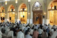 المحاضرة الدينية الاسبوعية في مسجد الكوفة المعظم