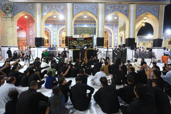 موكب سعيد بن جبير من النجف الأشرف يعزي بذكرى شهادة الإمام الباقر ومسلم بن عقيل (عليهما السلام)