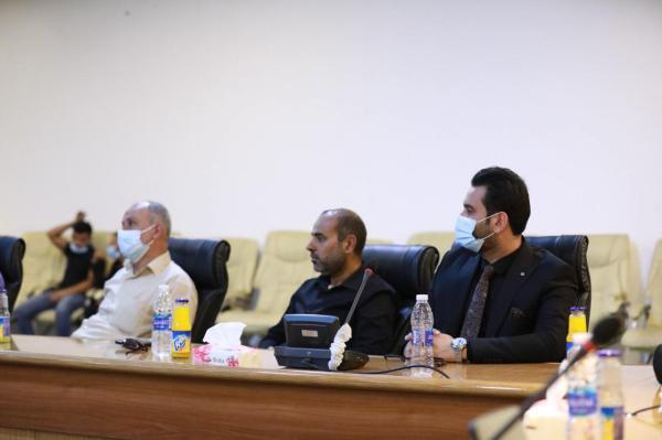 إعلام مسجد الكوفة المعظم والمزارات الملحقة به يشارك في الإجتماع الدوري للإعلام والاتصال الحكومي