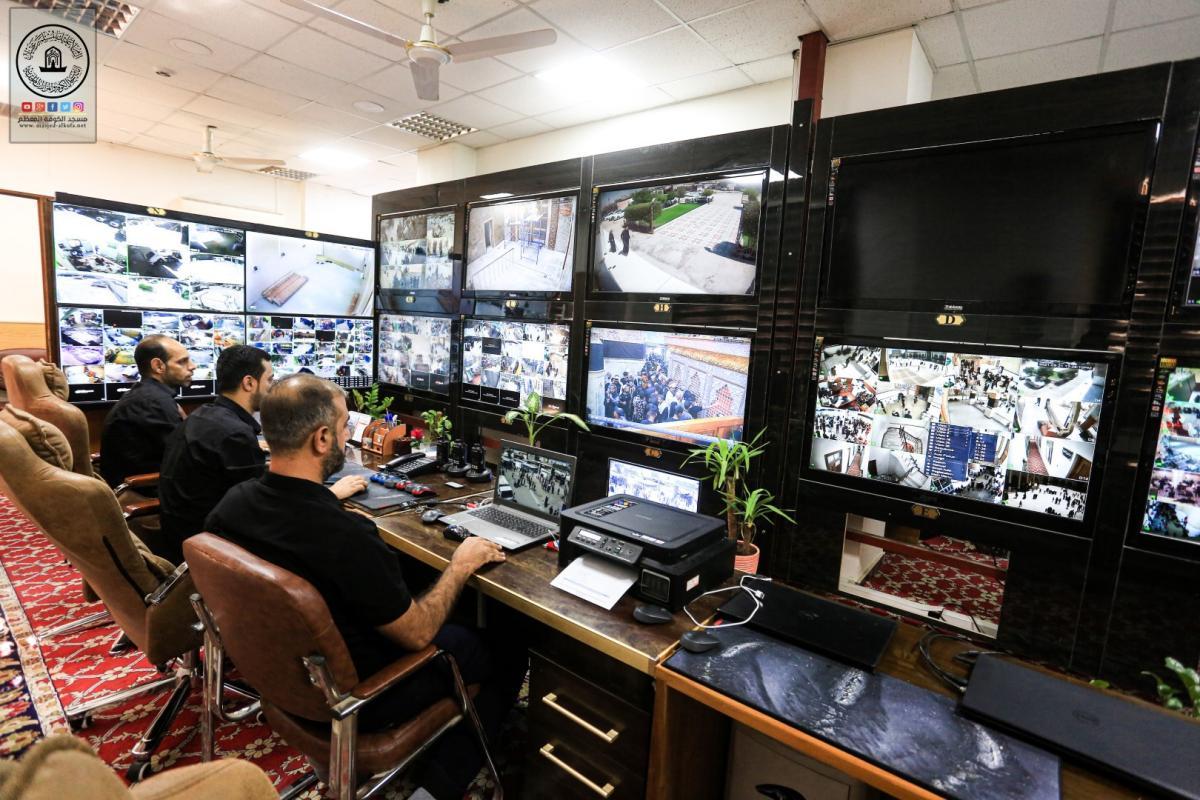شعبة الكاميرات والانترنيت تكثف جهودها خلال زيارة اربعينية الإمام الحسين (عليه السلام)