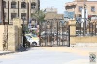 لتسهيل دخول وخروج زوار الأربعين الى مسجد الكوفة المعظم افتتاح بوابة صاحب الزمان (عجل الله فرجه) وبوابة الإمام علي (عليه السلام) الجديدة