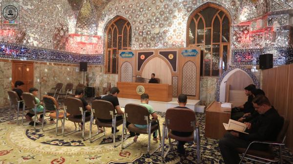 انطلاق الدورة التخصصية للأداء القرآني للحفاظ في مسجد الكوفة المعظم