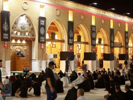 مجلس العزاء السنوي بذكرى شهادة الرسول الاعظم ( صلى الله عليه وأله وسلم) في مسجد الكوفة المعظم
