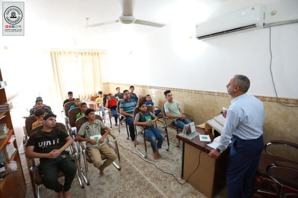 افتتاح دورة الإمام العسكري (ع) لتعليم القراءة الصحيحة والأداء القرآني في مسجد الكوفة المعظم