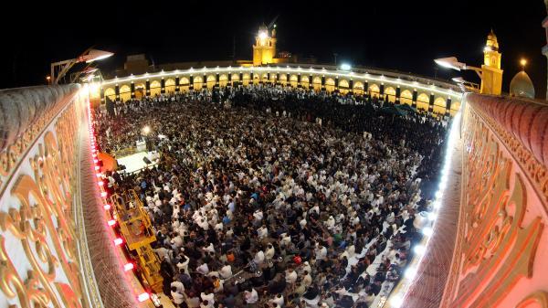مسجد الكوفة في ليلة الجرح