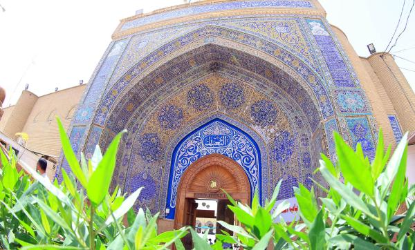 مسجد الكوفة  باب الثعبان