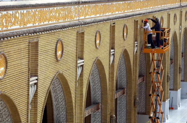 تواصل حملة  الاعمار والتطوير في أمانة المسجد