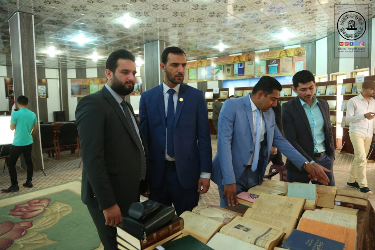 رئيس قسم الإعلام في أمانة مسجد الكوفة يهنئ الأسرة الصحفية في النجف الأشرف بعيد تأسيسها 109