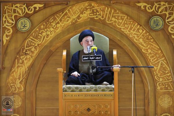 أمانة مسجد الكوفة تستذكر معركتي بدر والخندق ودور أمير المؤمنين (عليها السلام) فيهما