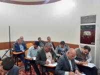 أمين مسجد الكوفة يتفقد مركز سفير الحسين (عليهما السلام) لمحو الأمية خلال امتحانات نصف السنة
