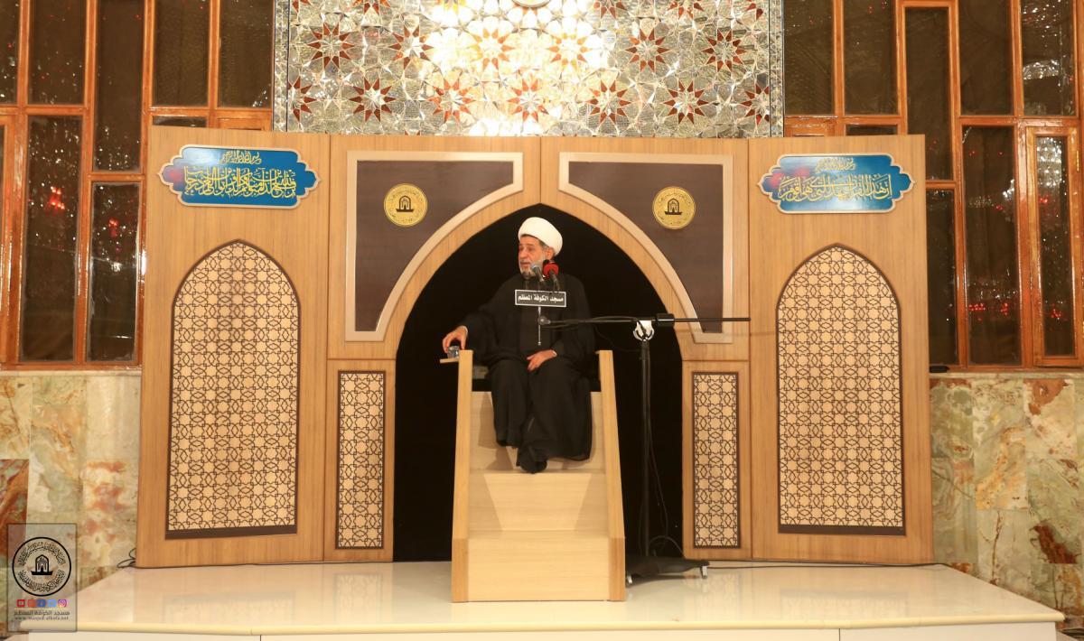 امانة مسجد الكوفة تختتم مجلس العزاء السنوي بإحياء ذكرى شهادة مسلم بن عقيل (عليه السلام)