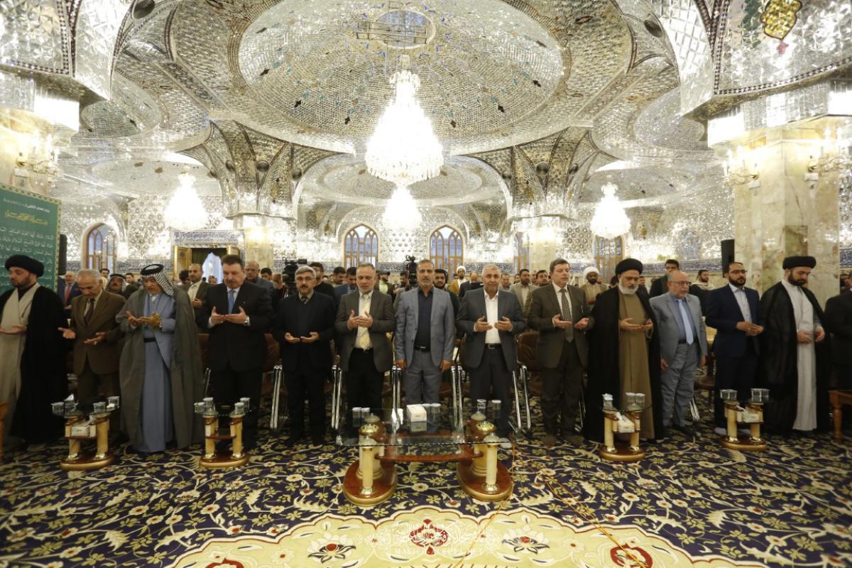 أمانة مسجد الكوفة تختتم مسابقة السفير القرآنية الوطنية الثامنة وتكرِّم الفائزين