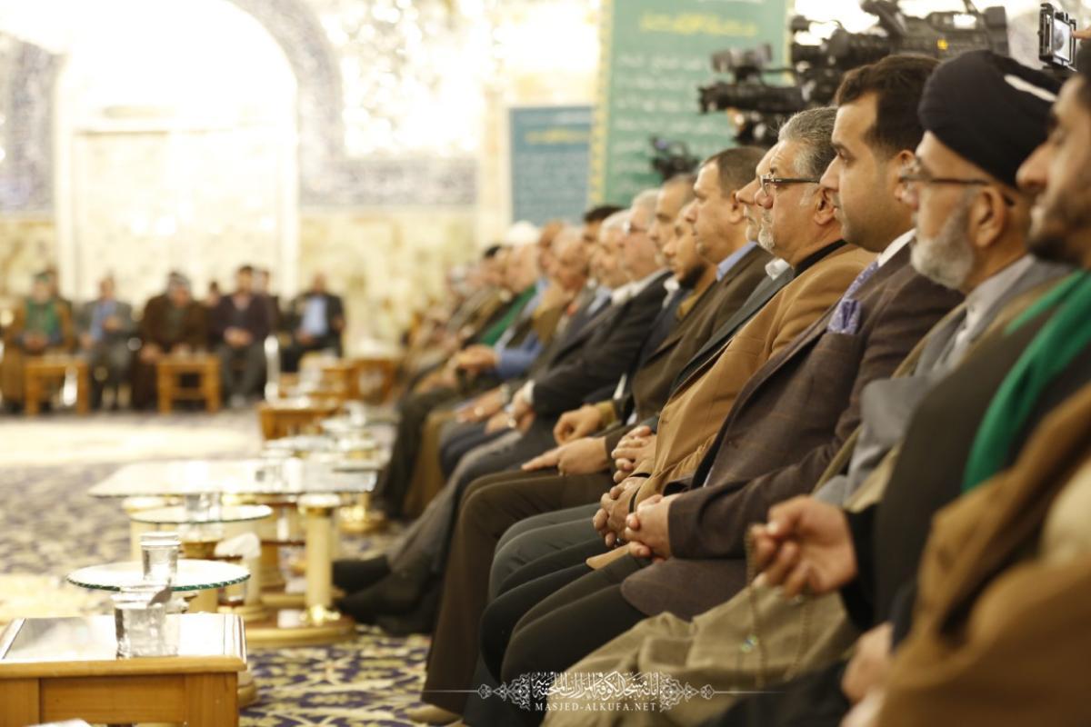 على اروقة المسجد المعظم يقيم المركز الوطني لعلوم القرآن  مسابقة النخبة القرآنية الوطنية لحفظ القرآن الكريم وتلاوته