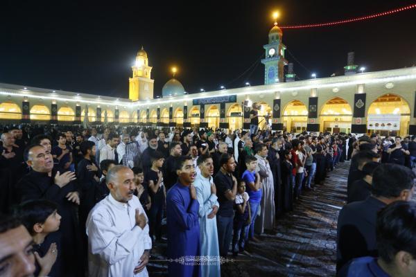 عزاء مسجد الكوفة المعظم في يومه الثاني في ذكرى شهادة أمير المؤمنين (عليه السلام)