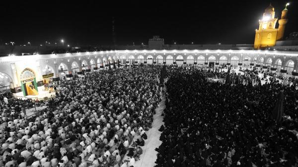 مسجد الكوفة ليالي الإستشهاد