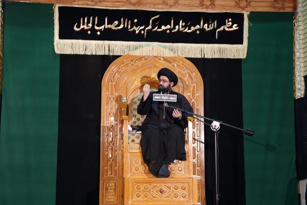 السيد محمد الصافي - ذكرى استشهاد مسلم بن عقيل (ع) -الليلة الأولى-  2016/9/7