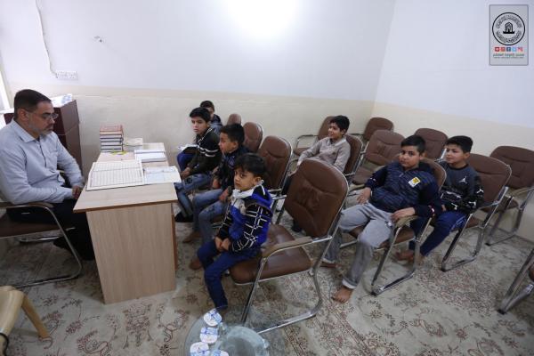 مشروع مسلم بن عقيل (ع) لحفظ القرآن الكريم هو تسليط الضوء على حفظة مدينة الكوفة العلوية