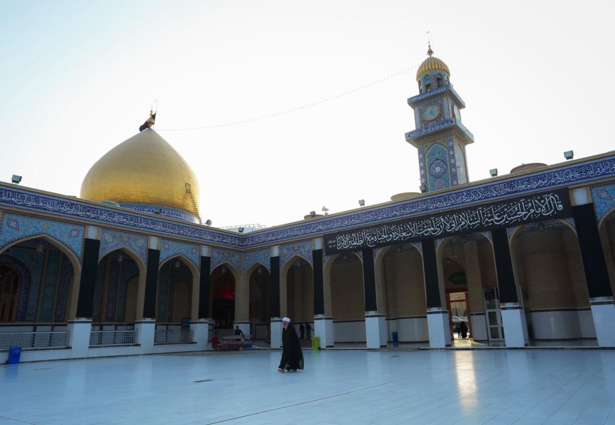 صور أجواء عاشوراء داخل صحن أبو طالب (5)