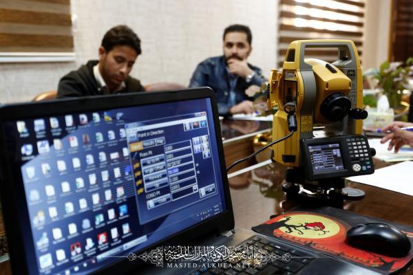 دورة تخصصية للمهندسين في أمانة مسجد الكوفة المعظم