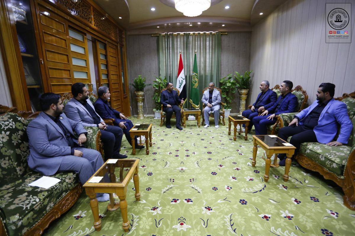 أمين مسجد الكوفة يلتقي نائب المحافظ ويناقش آليات التعاون خدمة للزائرين