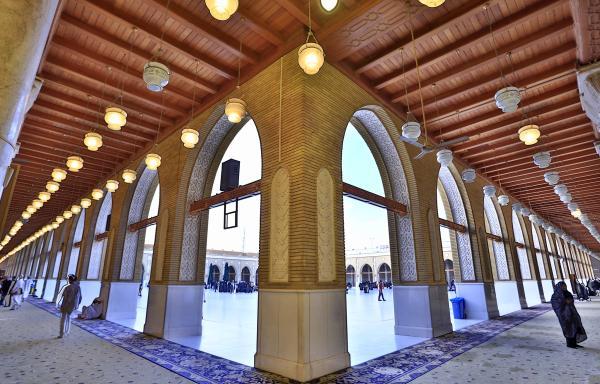 ممرات مسجد الكوفة المعظم