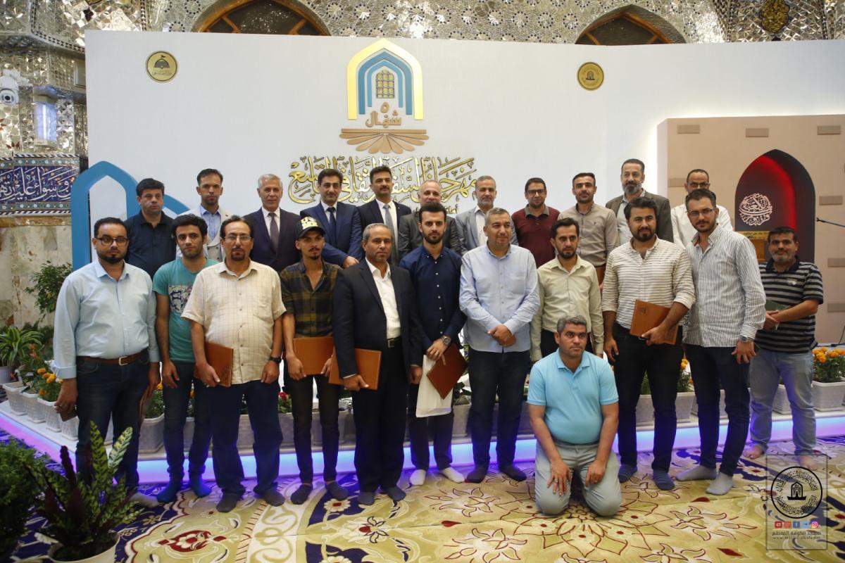 معرض الخط العربي في مهرجان السفير الثقافي التاسع خيمة لخطاطي العالم الإسلامي