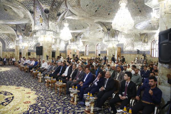 انعقاد الجلسة الخاصة بمسابقة جائزة مسلم بن عقيل (عليه السلام) للإبداع الفكري الثامنة