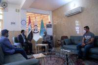 الإعلام والاتصالات تشيد بجهود اعلام أمانة مسجد الكوفة في توعية المجتمع من وباء كورونا