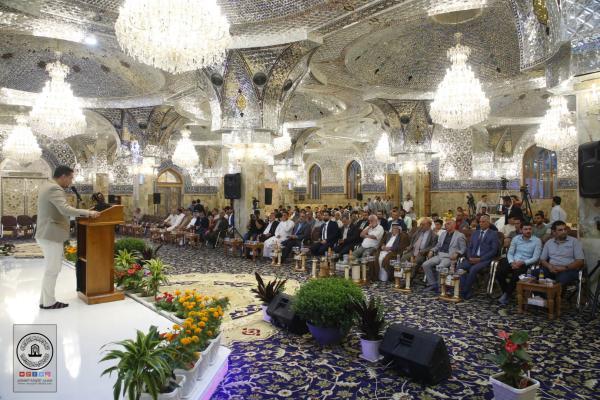 الشعر الشعبي يلوِّن فعاليات مهرجان السفير الثقافي التاسع بكلمات الحب والولاء لأمير المؤمنين (عليه السلام)