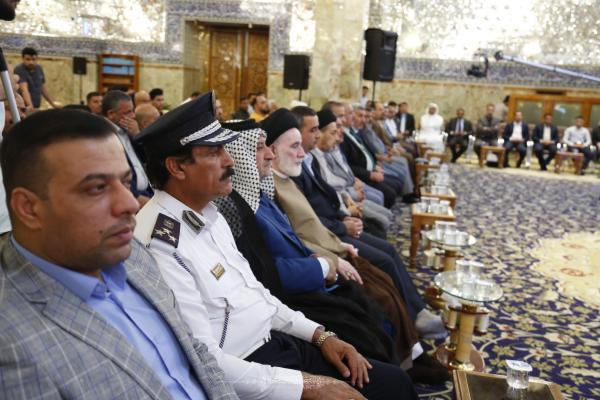 إعلاميون يشيدون بمهرجان السفير الثقافي التاسع بعد تكريمهم من قبل امانة مسجد الكوفة المعظم