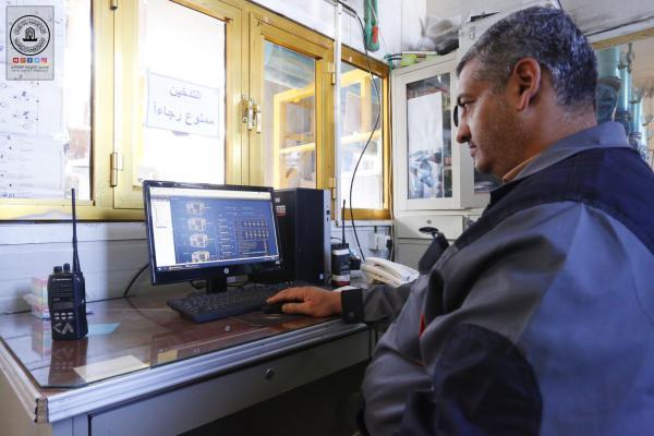 من أجل ترشيد الطاقة في أجهزة التبريد المركزي .. امانة مسجد الكوفة تستخدم نظام المباني الذكية