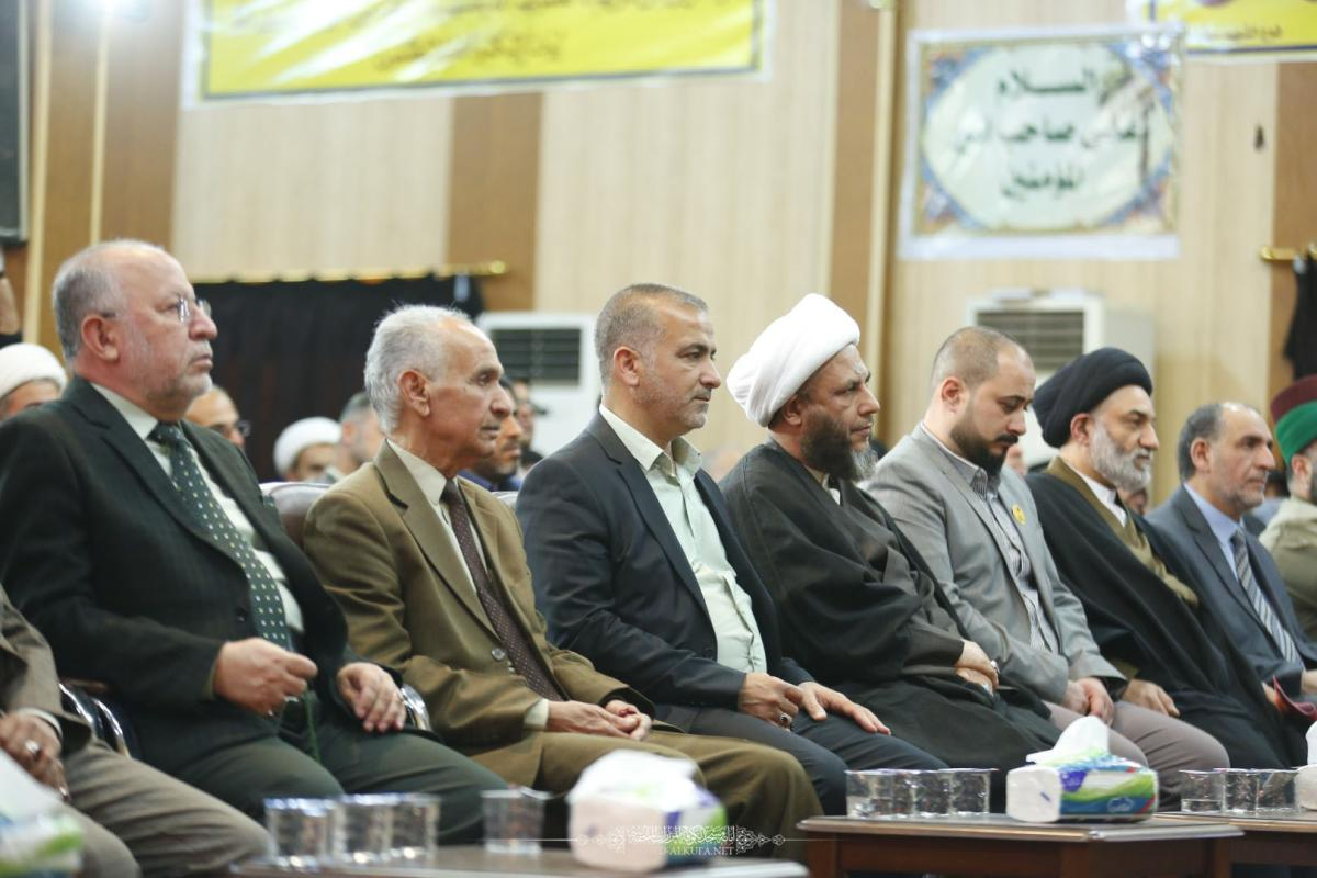انطلاق (مهرجان الكوفة عاصمة الخلافة السابع) بحضور امين مسجد الكوفة