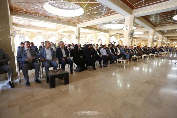 بحضور أمين مسجد الكوفة .. أمانة مسجد السهلة تختتم مهرجان بقية الله الثقافي الثاني عشر