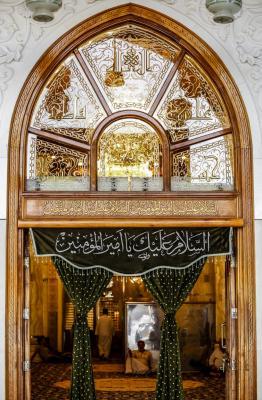 صورة باب محراب أمير المؤمنيين