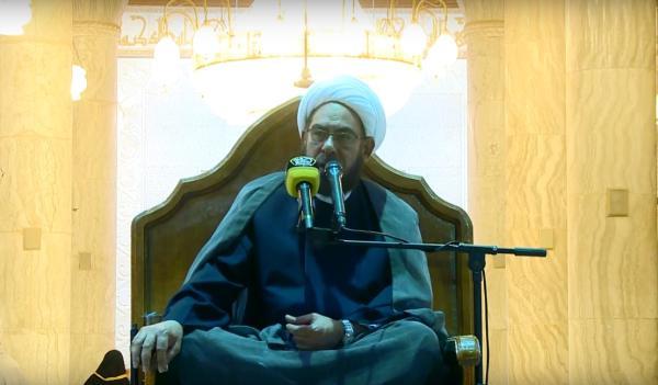 المجلس الأسبوعي - باحة مسجد الكوفة المعظم -  فضيلة الشيخ الدكتور علي الشكري