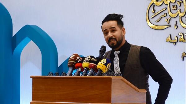 مهرجان السفير الثقافي التاسع ( 2019 م - 1440 هـ ) جلسة الشعر الشعبي - الشاعر باسم البديري