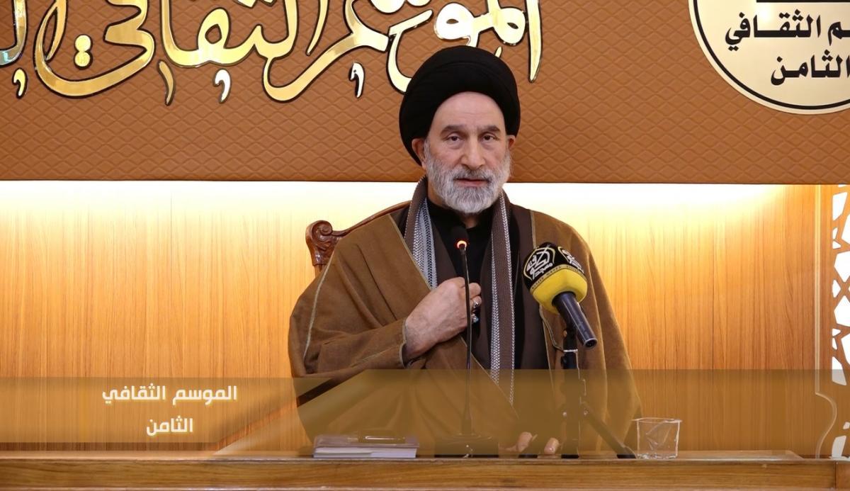 الموسم الثقافي الثامن ( 2019 م - 1440 هـ ) سماحة السيد عبد الجبار العوادي اليوم الثالث