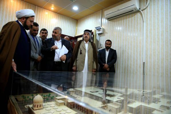 تتوج جهود أمانة مسجد الكوفة بالتوقيع على التصاميم  الهندسية لصحن أبي طالب (رضوان الله عليه )