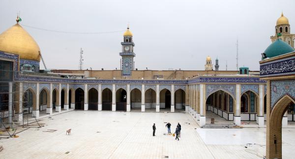 الإعمار في  صحن مسلم  بن عقيل (عليه السلام) الجديد